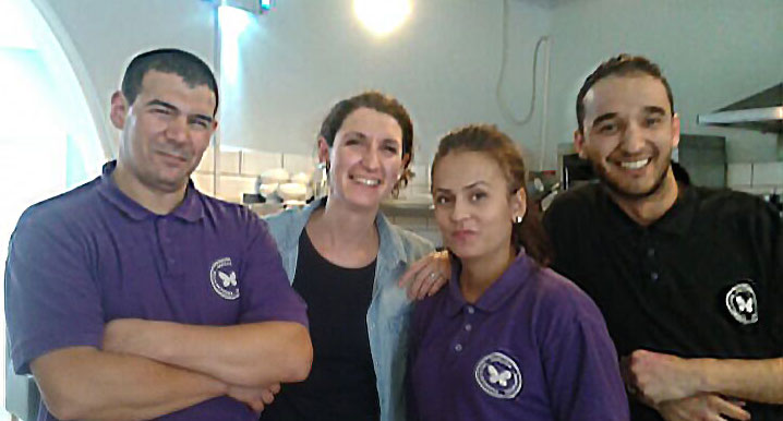 Papillon Cafe Team